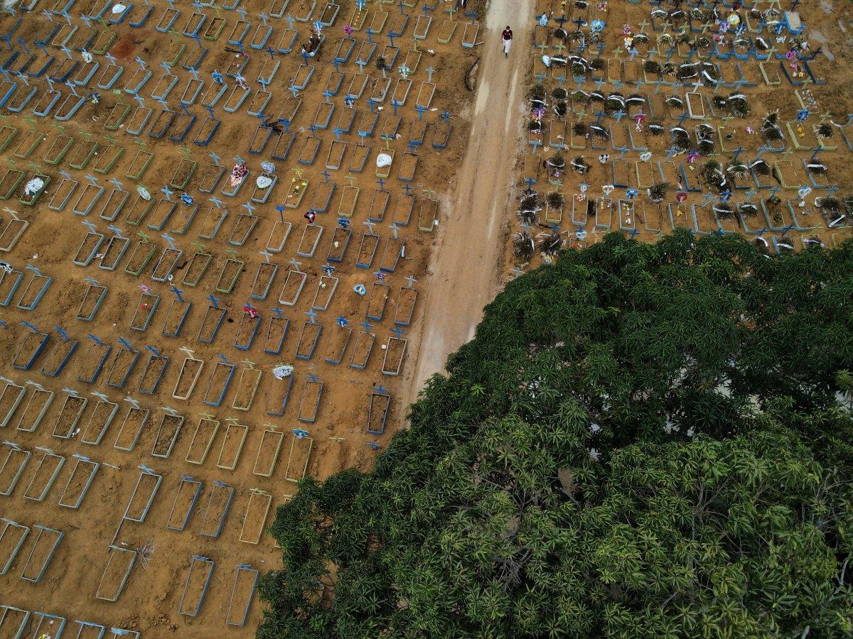 Brezilya da günde 2 bin kişi koronavirüsten ölüyor #1