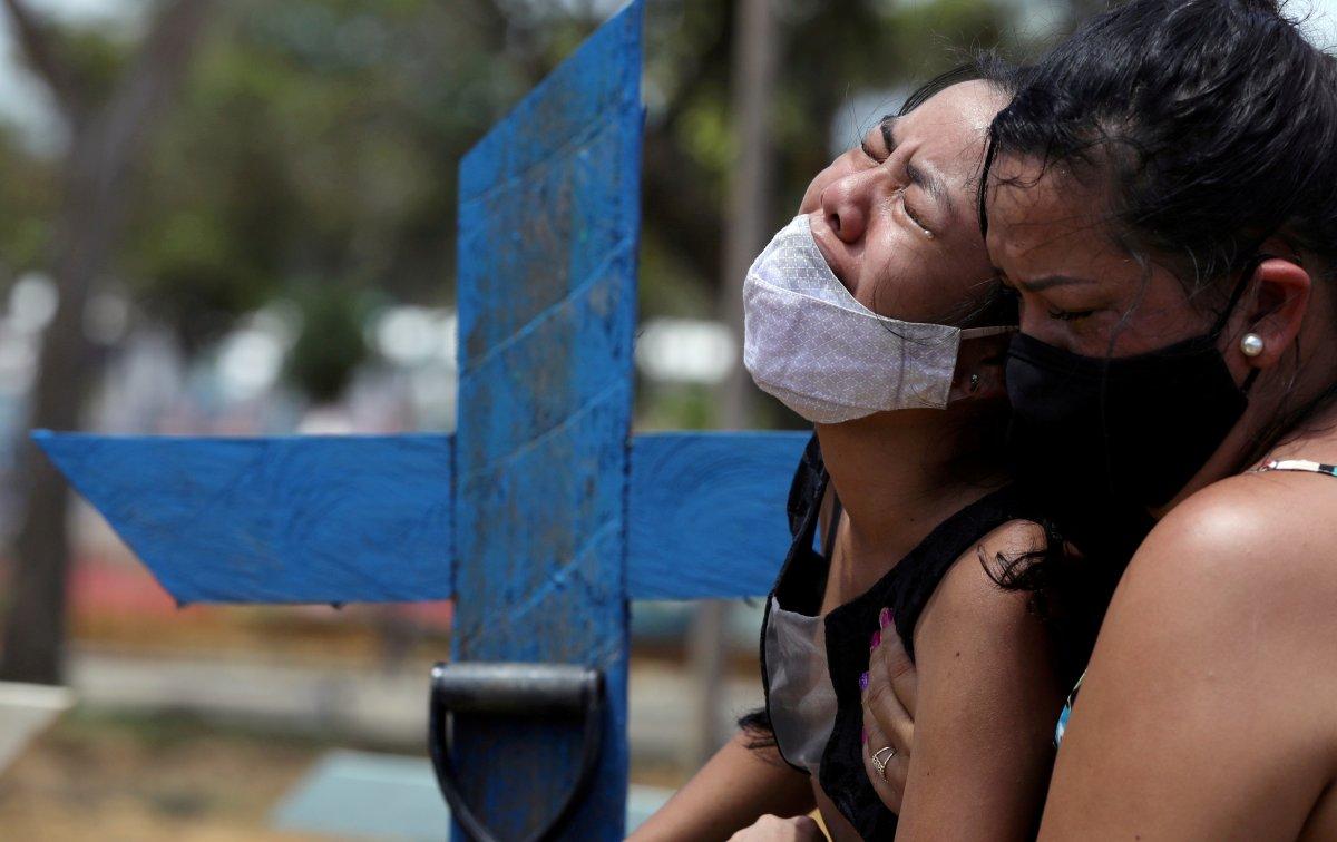Brezilya da günde 2 bin kişi koronavirüsten ölüyor #3