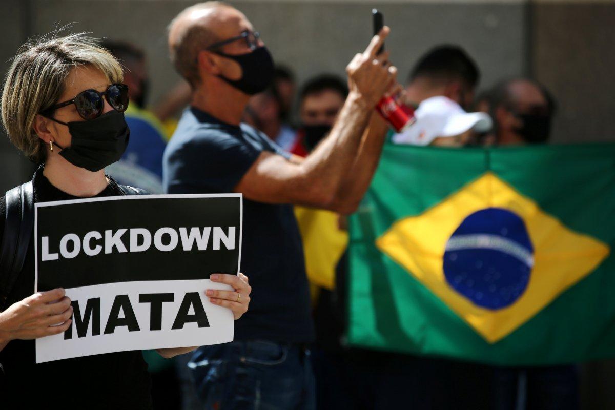 Brezilya da günde 2 bin kişi koronavirüsten ölüyor #4