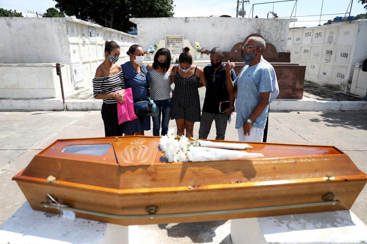 Brezilya da günde 2 bin kişi koronavirüsten ölüyor #5