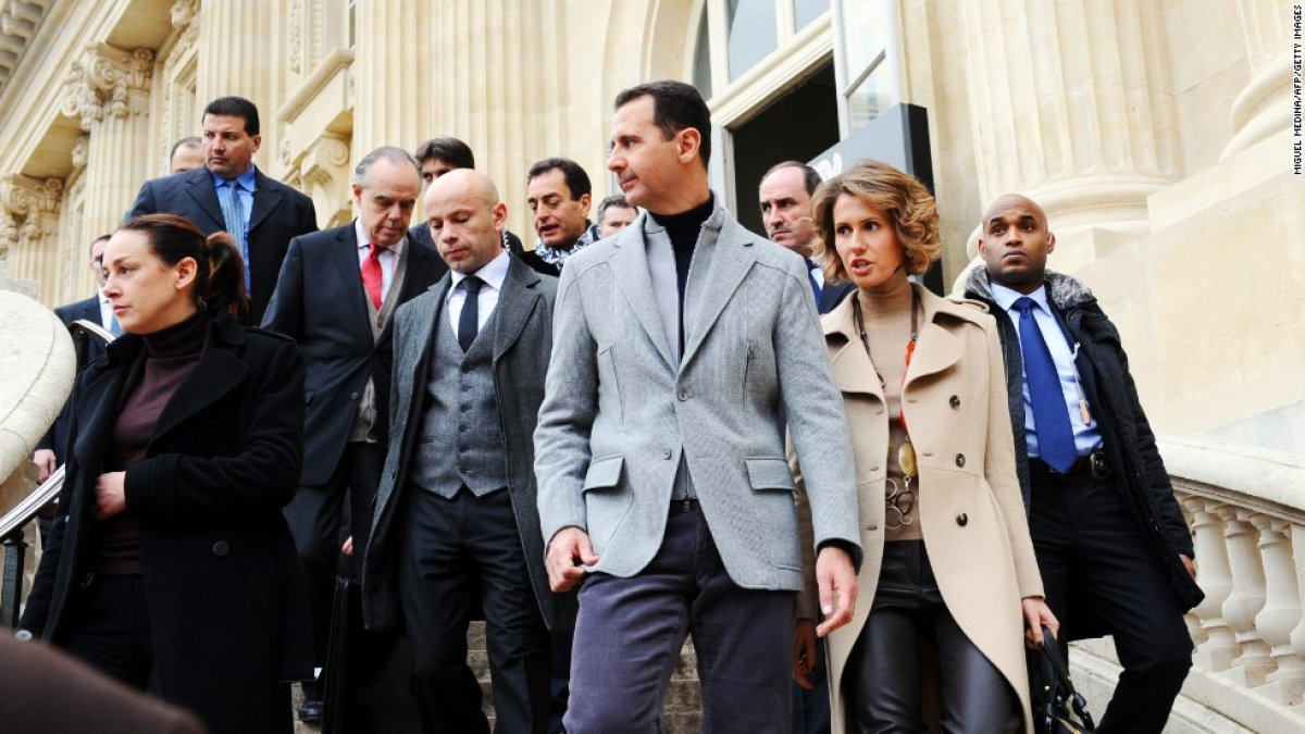 Esad, korona tedavisi için Rusya ya gitti #1