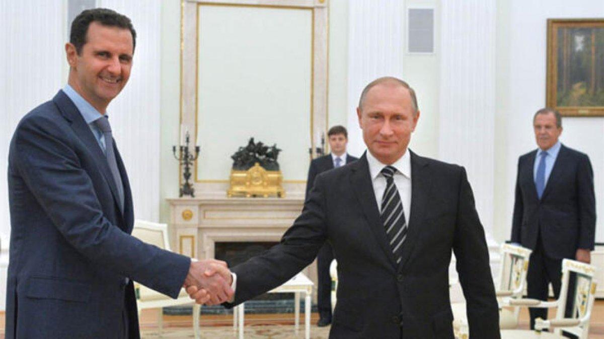 Esad, korona tedavisi için Rusya ya gitti #2