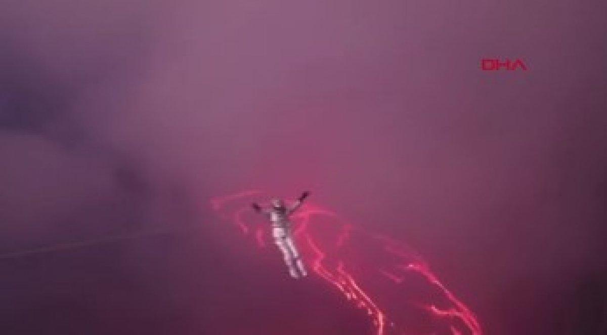 Etiyopya da volkanik lav üzerinde rekor denemesi #2