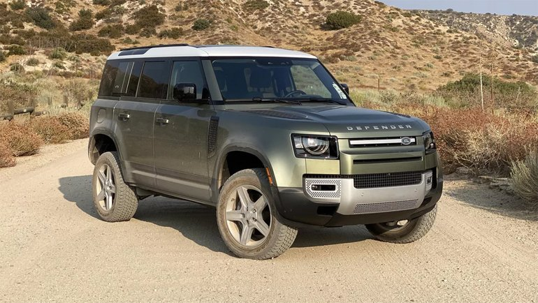 Land Rover'dan yeni Defender