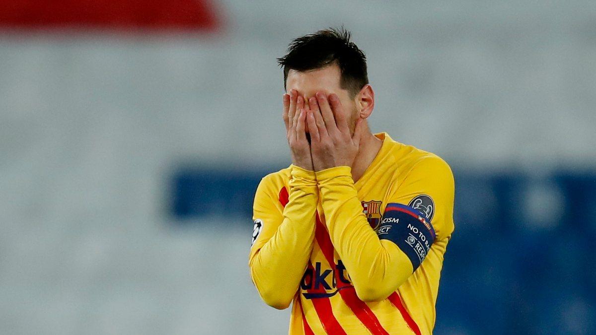 Messi PSG maçında penaltı kaçırdı