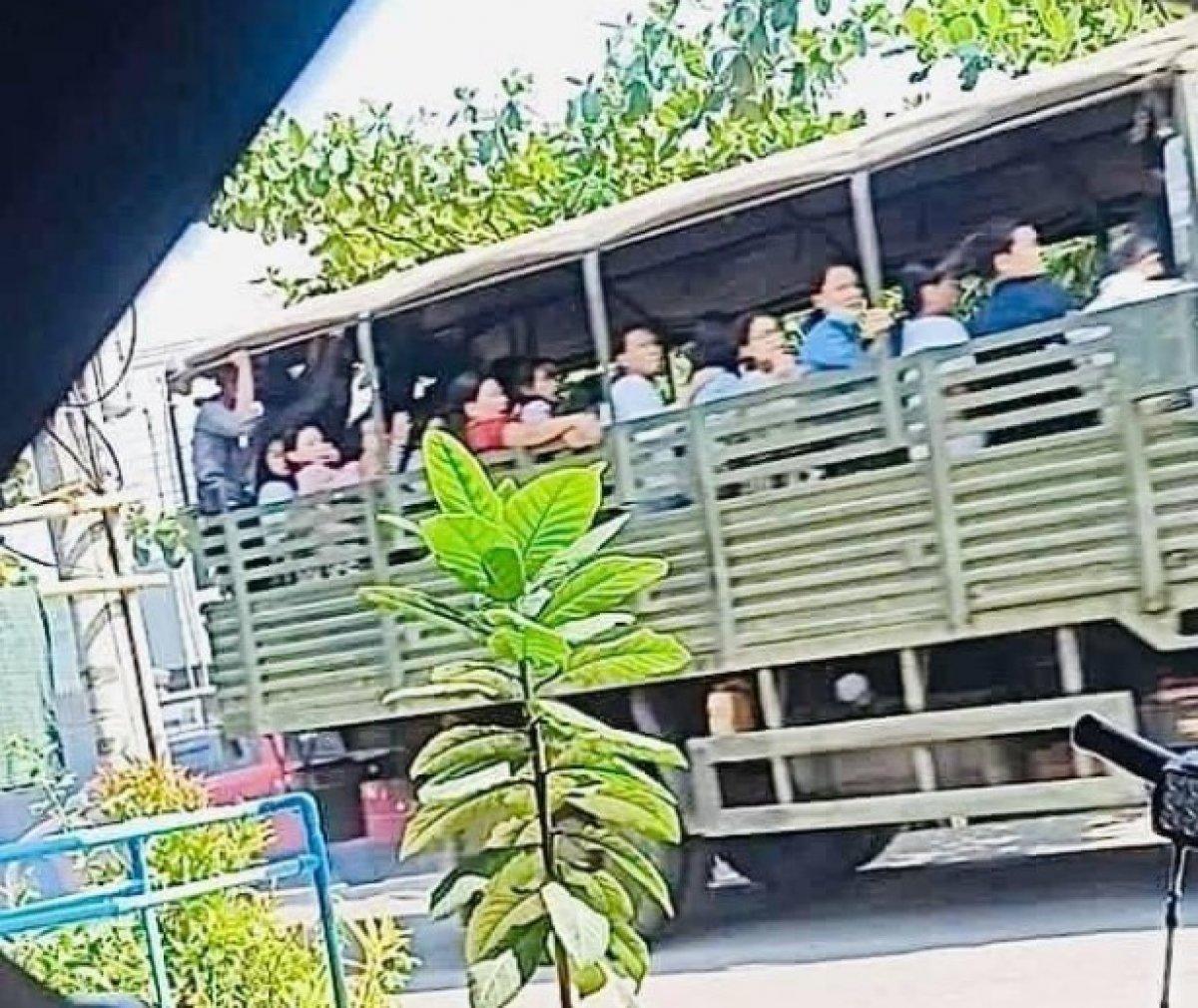 Myanmar da güvenlik güçleri, grevdeki demir yolu çalışanlarını evlerinden çıkardı #18