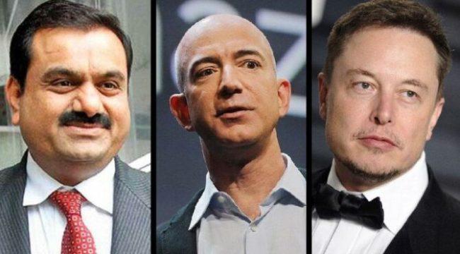 Ne Bezos ne Musk… 2021'in yıldızı Adani